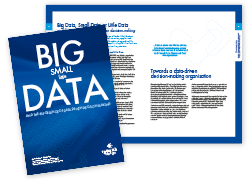 Research by Design / Big, Small, Little Data White paper