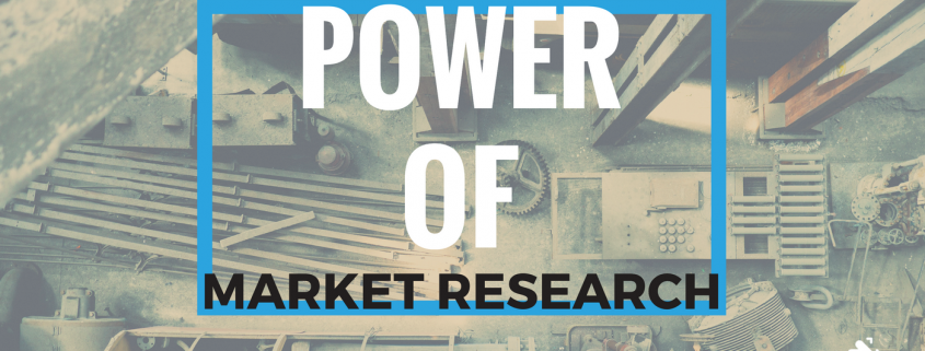 The power of market research - manufacturing