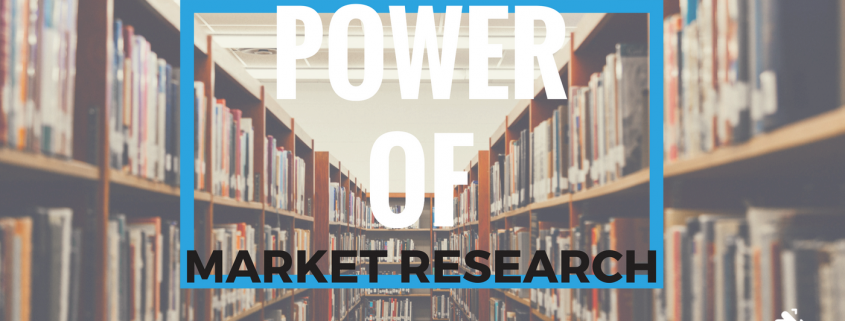 The power of market research - higher education